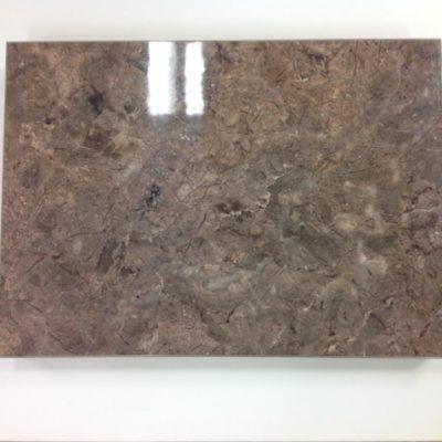 Square Edge Brown Granite Gloss